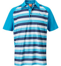Men's GT Glitch Stripe Short Sleeve Polo