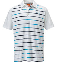 Men's GT Print Stripe Short Sleeve Polo