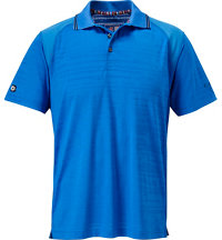 Men's Jaquard Short Sleeve Polo