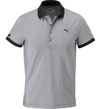 Men's LUX Micro Stripe Short Sleeve Polo