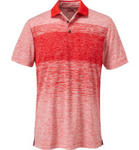 Men's Novelty Stripe Short Sleeve Polo