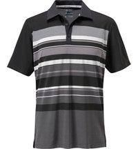 Men's ClimaCool Sport Performance Stripe Short Sleeve Polo