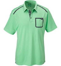 Men's ClimaCool Digital Mesh Short Sleeve Polo
