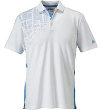 Men's ClimaCool Grid Burst Short Sleeve Polo
