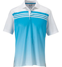 Men's ClimaCool 3-Stripes Gradient Short Sleeve Polo