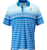 Men's ClimaCool Birdseye Stripe Jacquard Short Sleeve Polo