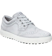 Men's Casual Hybrid Wingtip Golf Shoes - Concrete