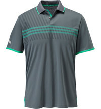 Men's ClimaChill 3-Stripes Deboss Short Sleeve Polo