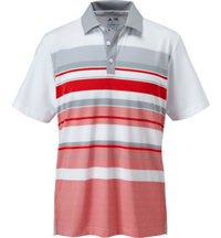 Men's ClimaCool Sport Performance Stripe Short Sleeve Polo
