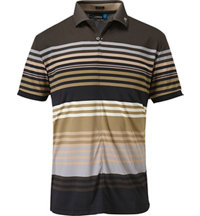 Men's Ric Regular Printed TX Short Sleeve Polo