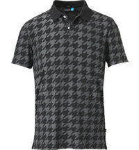 Men's Rubi Drape Jacquard Short Sleeve Polo