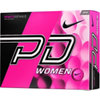 NIKE Personalized Women's Power Distance Pink Golf Balls
