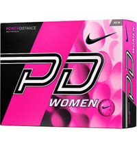 Personalized Women's Power Distance Pink Golf Balls
