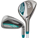 Lady Rhapsody 4H, 5H, 6-PW Iron Set with Graphite Shafts