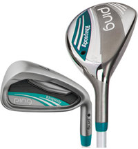 Lady Rhapsody 5H, 6H, 7-PW, UW, SW Iron Set with Graphite Shafts