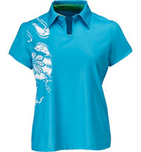 Women's Hynotic Short Sleeve Polo