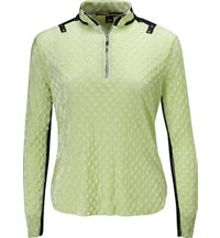 Women's Dippin Dot Long Sleeve Mock