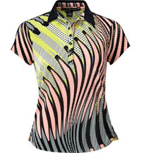 Women's Printed Crunch Short Sleeve Polo