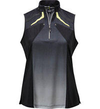 Women's Fade Sleeveless Polo