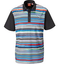 Men's Road Map Short Sleeve Polo