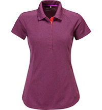 Women's LUX Raglan Short Sleeve Polo