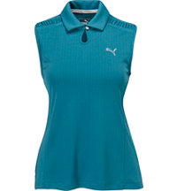 Women's Key Sleeveless Polo