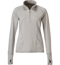 Women's Popover Long Sleeve Mock