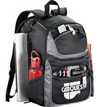 Logo Checkpoint-Friendly Compu-Backpack