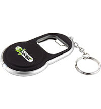 Logo Circle Bottle Opener Keylight