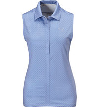 Women's Dot Sleeveless Polo