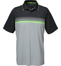 Men's Momentum Stripe Short Sleeve Polo