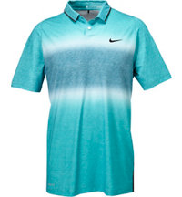 Men's TW Velocity Glow Stripe Short Sleeve Polo