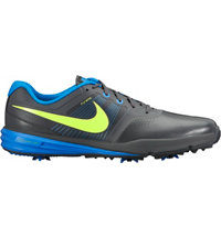 Men's Lunar Command Golf Shoes - Dark Grey/Volt/Photo Blue