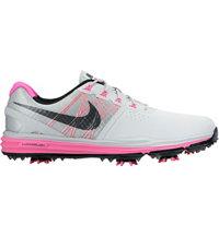 Men's Lunar Control III Golf Shoes - Platinum/Pink Pow