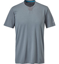 Men's Golf Performance Notched Neck T-Shirt