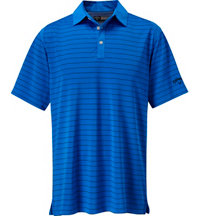 Men's Opti-Dri Stripe Short Sleeve Polo