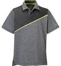 Boy's Momentum Short Sleeve Polo