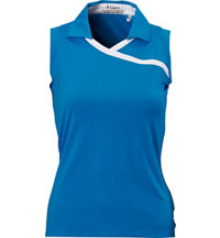 Women's Sweet Sleeveless Polo