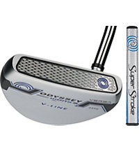Works Mallet Putter with SuperStroke Grip