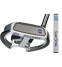 Works 2-Ball Fang Putter with SuperStroke Grip