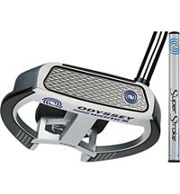 Works Tank 2-Ball Fang Putter with SuperStroke Grip