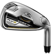 Fly Z Black 4-PW, GW Iron Set with Steel Shafts
