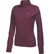 Women's Popover Quarter-Zip Long Sleeve Mock