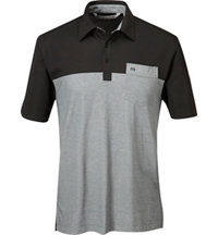 Men's Hollows Short Sleeve Polo