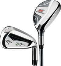 Lady X Series N415 4H,5H, 6-PW,AW Iron Set with Graphite Shafts