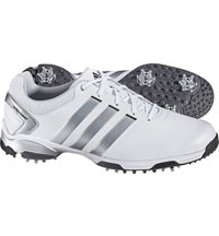 Men's Adipower TR Golf Shoes - White/Silver/Black