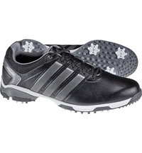 Men's Adipower TR Golf Shoes - Black/Metallic/White