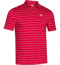 Men's coldblack Par Stripe Short Sleeve Polo
