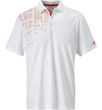 Men's ClimaCool Expanded Stripe Print Short Sleeve Polo
