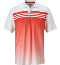 Men's 3-Stripes Chest Print Short Sleeve Polo
